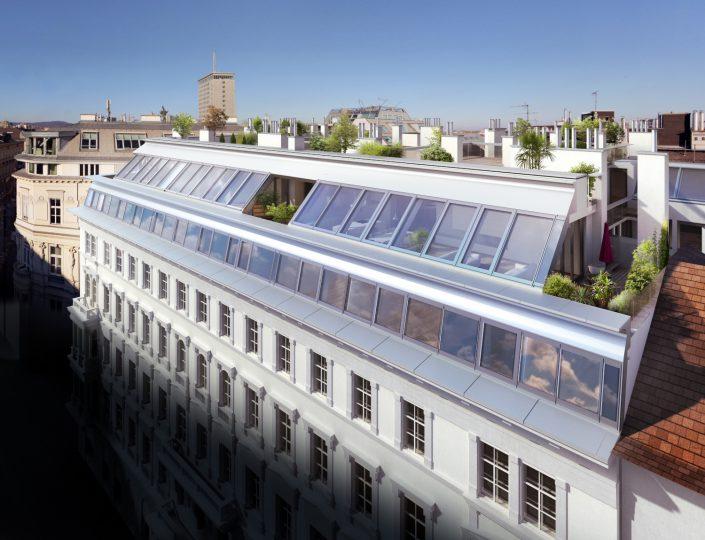 Dachgeschoßausbau Gonzagagasse 12, 1010 Wien